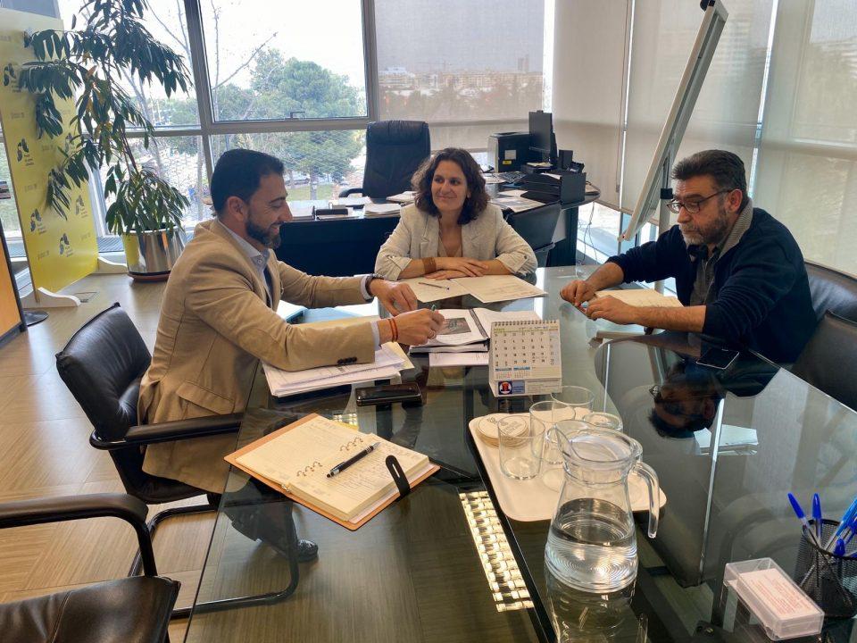 Medio Ambiente de Orihuela se reúne con la Conselleria de Cambio Climático 6