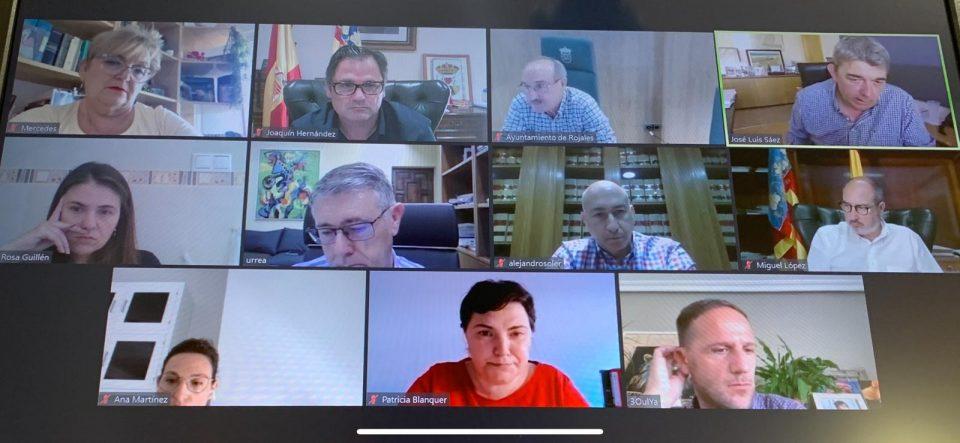 La CHS se reúne con varios cargos públicos del PSOE 6