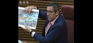 Bascuñana reclama actuaciones urgentes en la Comisión de la Dana en las Cortes Valencianas 9