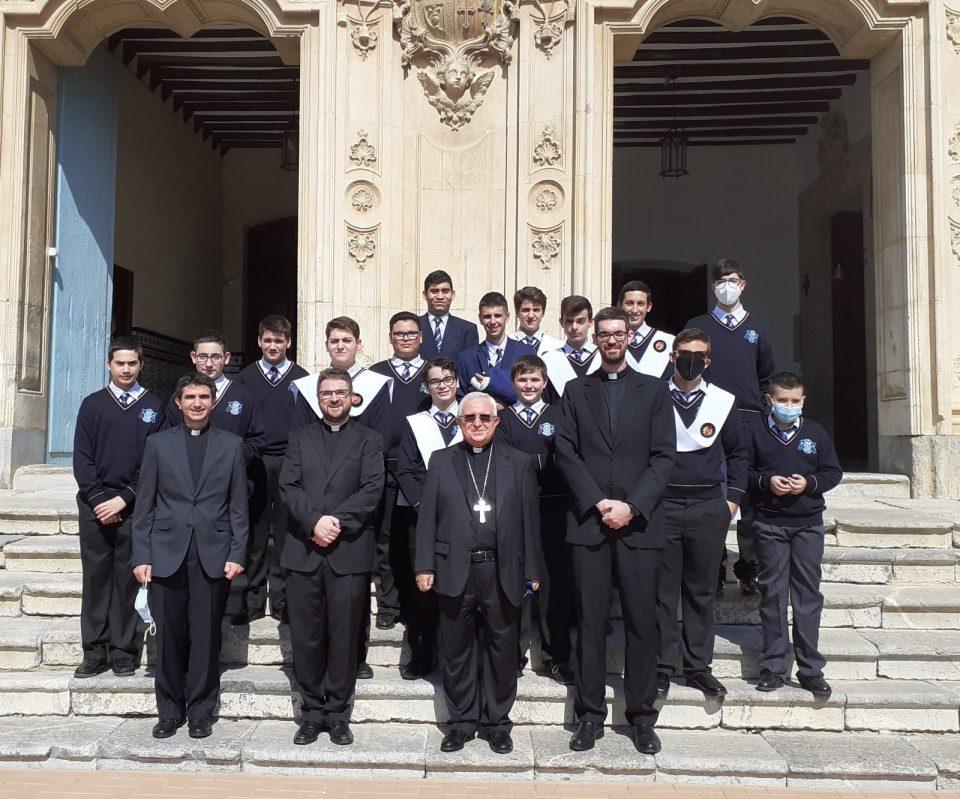 Apertura oficial del curso en el Seminario Diocesano de Orihuela con la visita del obispo don Jesús Murgui 6