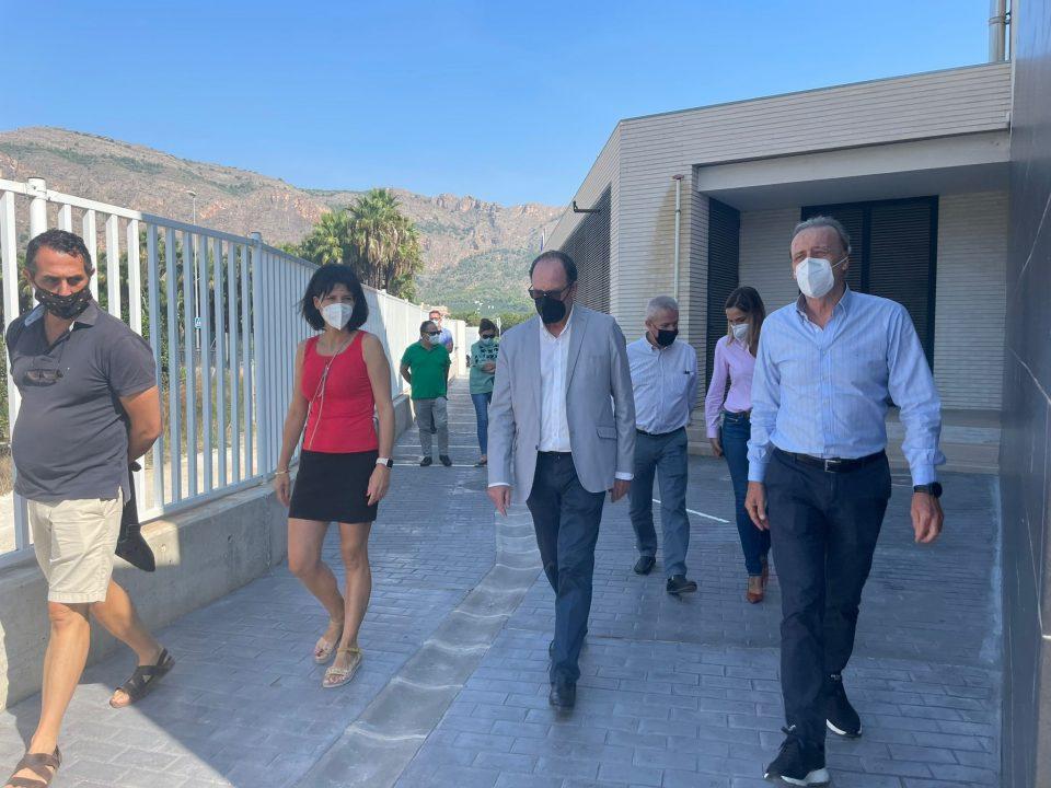 Finalizan las obras de renovación de los colegios Antonio Sequeros y Rincón de Bonanza 6