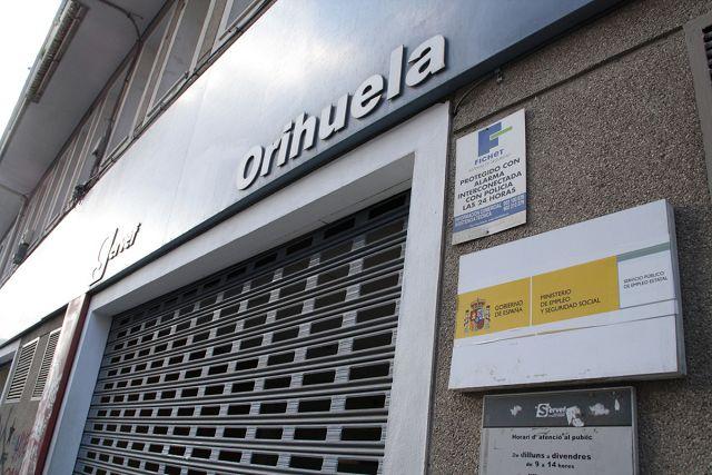 La crisis sanitaria destruye 2.321 puestos de trabajo en la Vega Baja 6