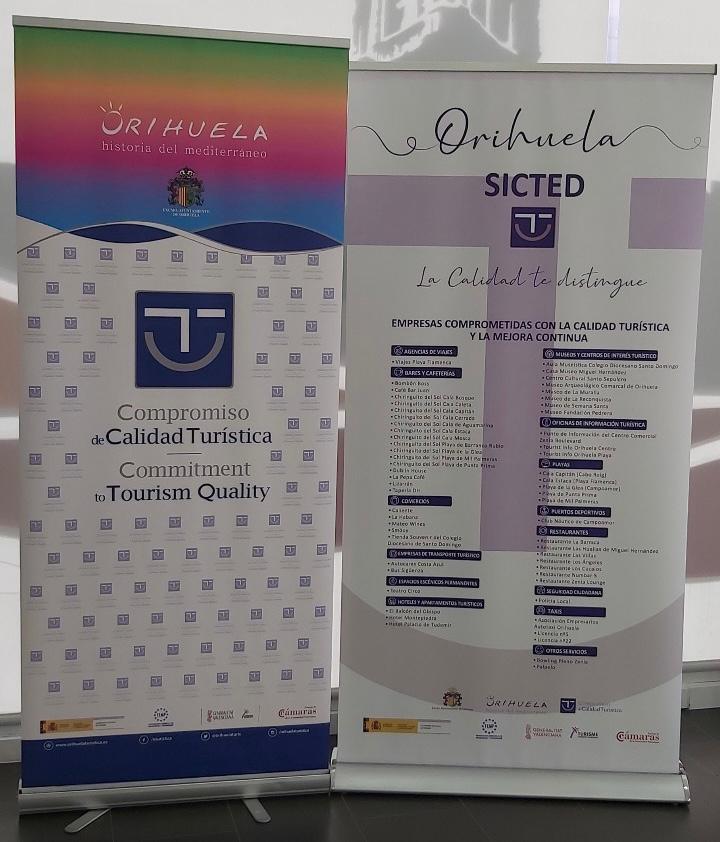 El 90% de las empresas de destino Orihuela renueva su distinción de Calidad Turística SICTED 6