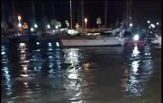 Un meteotsunami genera problemas en el puerto de Guardamar 6