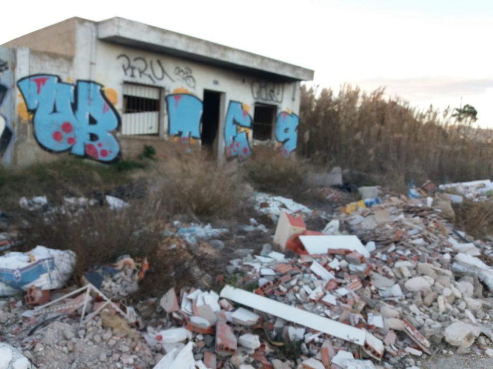 El PSOE de Callosa denuncia el estado de abandono de los barrios de la huerta 6