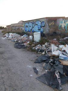 El PSOE de Callosa denuncia el estado de abandono de los barrios de la huerta 7