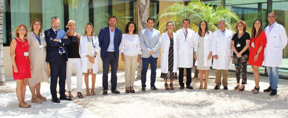 Eduardo Dolón visita el Hospital Universitario de Torrevieja 6