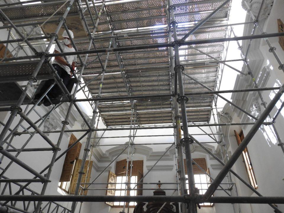 La Iglesia Santas Justa y Rufina de Orihuela rehabilitará su Sacristía y Capilla de la Comunión 6