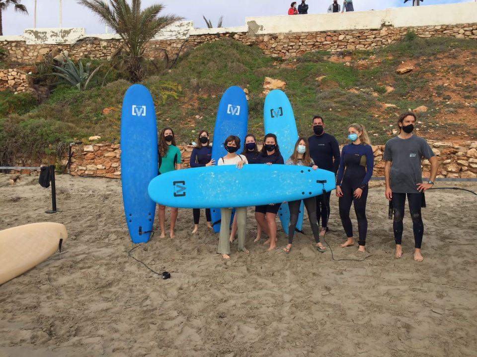 El surf estará permitido en la playa Cala Cerrada de Orihuela 6