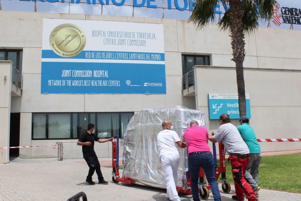 El Hospital Universitario de Torrevieja incorpora un TAC de última generación 6