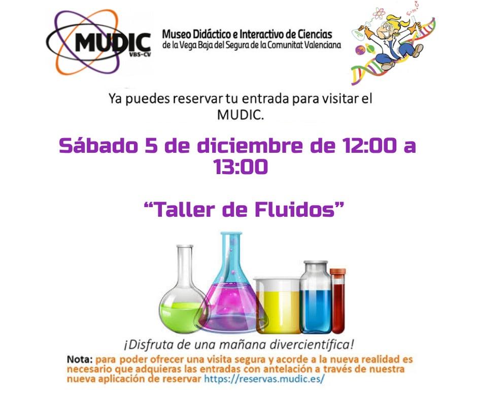 El MUDIC organiza un taller de fluidos para alumnos y familias 6