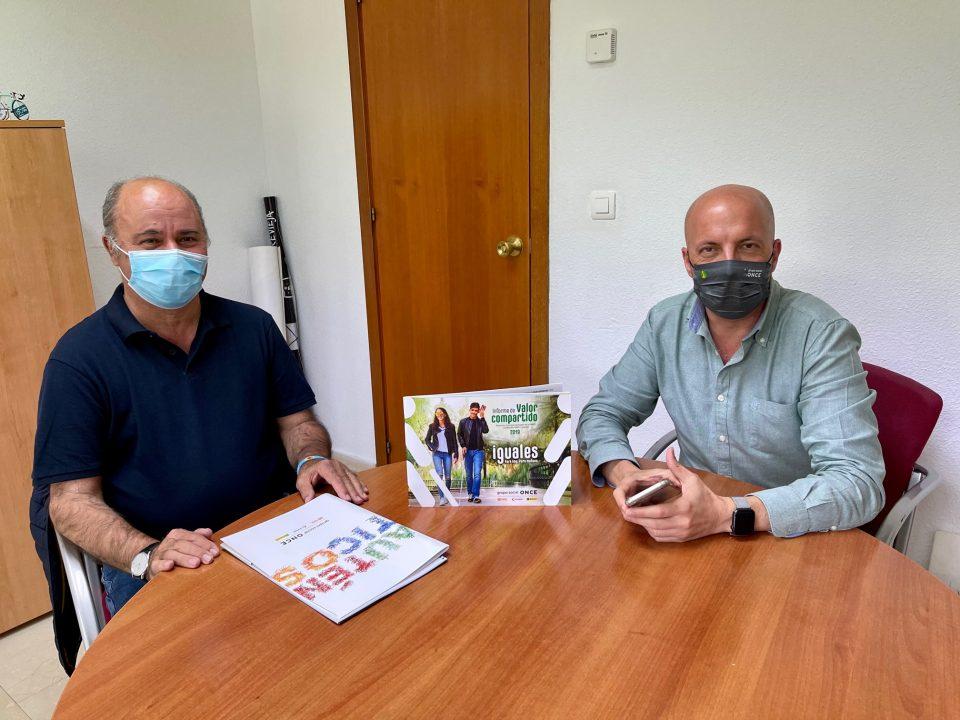 La ONCE y Torrevieja estudian un acuerdo a favor de las personas con discapacidad 6