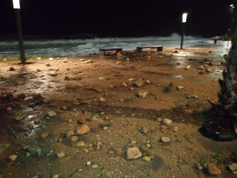 El paseo Punta Margalla, el punto más afectado por el temporal en Torrevieja 6