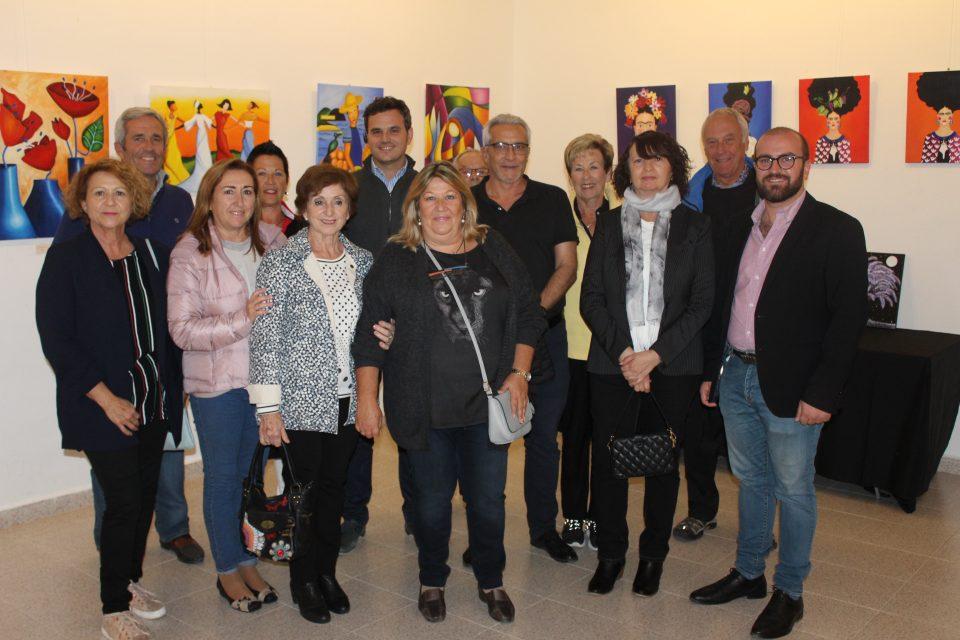 El taller de Manuel de Arce llena de color la Casa de Cultura de Pilar de la Horadada 6