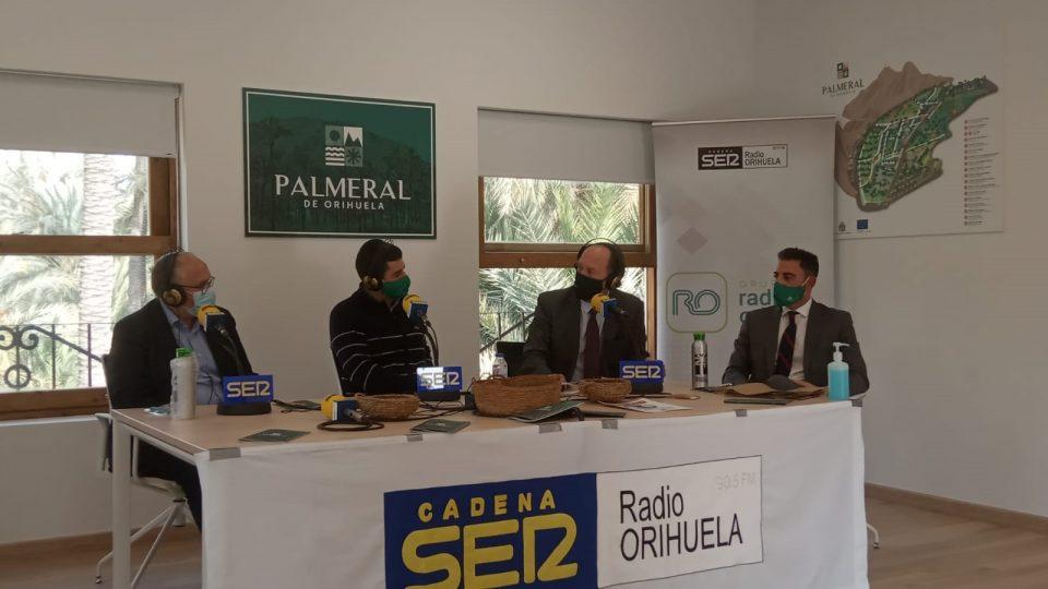 Toni Such visita el Palmeral de Orihuela y reitera el compromiso de la Administración con la Vega Baja 6
