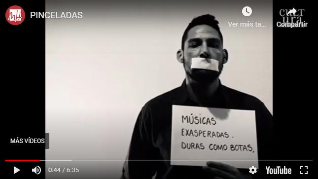 La UMH presenta una performance sobre Miguel Hernández creada para la Senda del Poeta 6