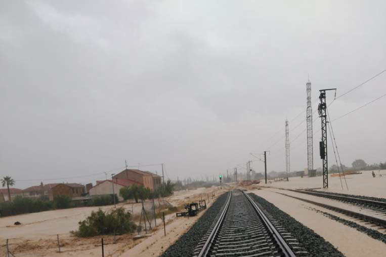 Restablecido el tramo de tren entre Callosa y Beniel pero no hasta Murcia 6