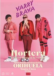 Varry Brava llega al Teatro Circo de Orihuela este viernes con su último disco 7