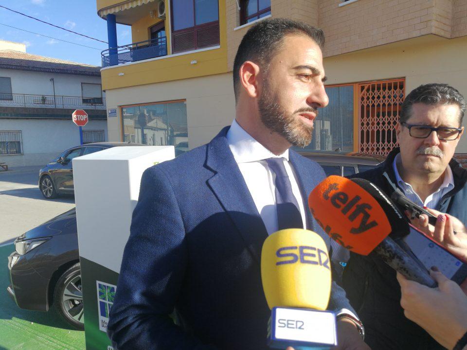 Orihuela amplía los puntos de recarga de vehículos eléctricos en las pedanías 6