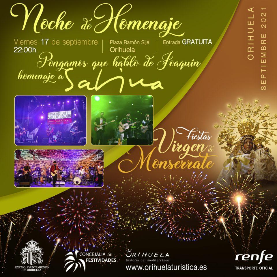 Dos conciertos cerrarán en Orihuela la programación festiva por la patrona la Virgen de Monserrate 6