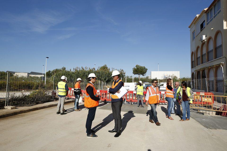 Una nueva estación de bombeo evitará inundaciones en la Urb. El Paraíso de Torrevieja 6