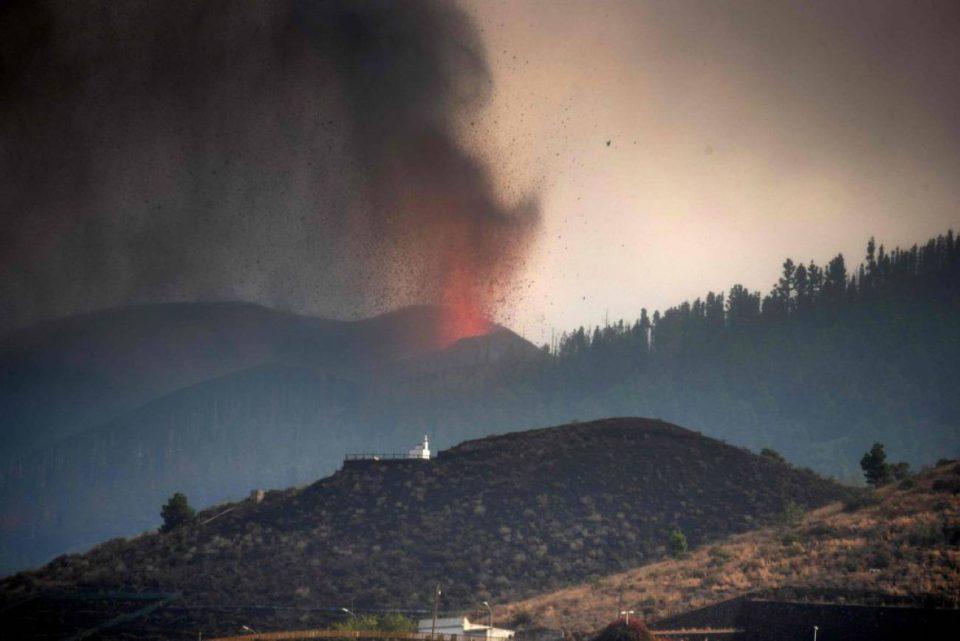 Llega a la provincia el dióxido de azufre procedente del volcán de La Palma 6