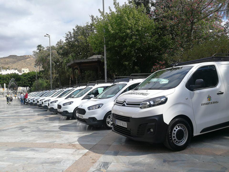 El Ayuntamiento de Orihuela adquiere 29 nuevos vehículos 6