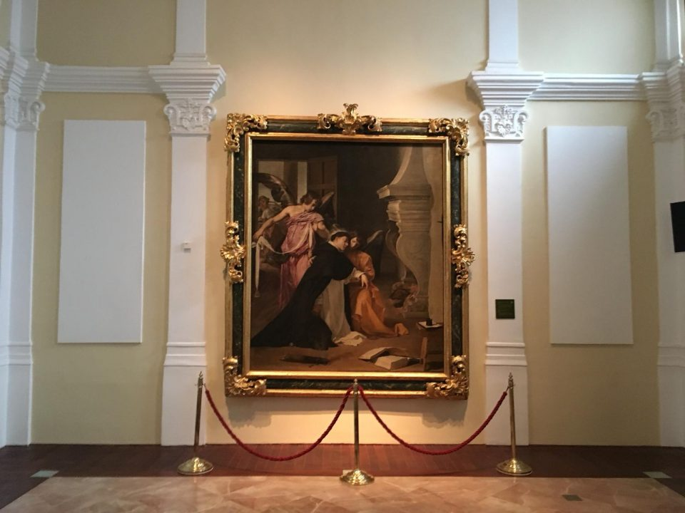 Lectura colectiva ante el Velázquez conservado en Orihuela 6