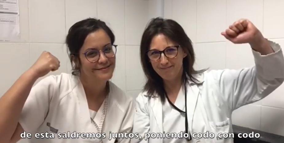 El Hospital Vega Baja promueve las cartas de ánimo en la batalla contra el coronavirus 6