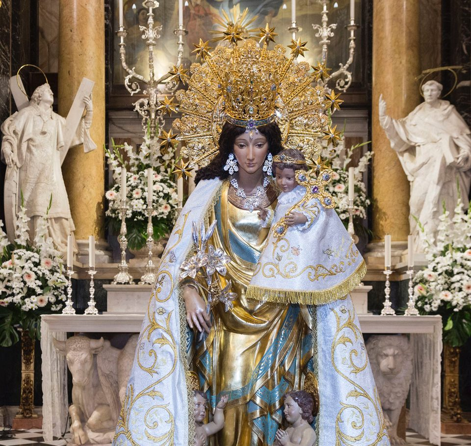La Virgen de los Desamparados visita Orihuela 6