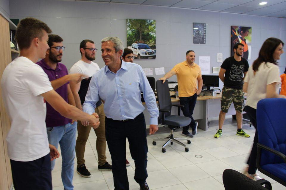 El Alcalde de Pilar de la Horadada visita a los voluntarios de Protección Civil 6