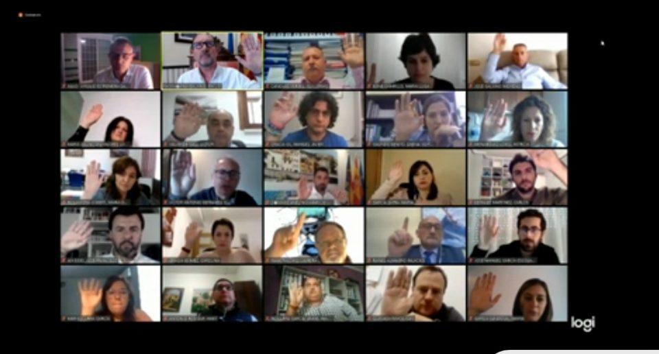 Los plenos telemáticos han prescindido de la participación vecinal en Orihuela 6