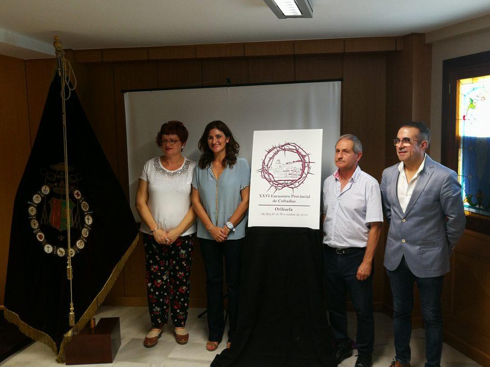 La Junta Mayor presenta la web del Encuentro Provincial de Cofradías en Orihuela 6