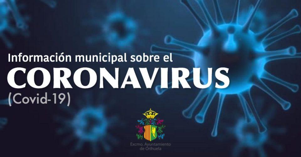 El Ayuntamiento de Orihuela pone en marcha una web sobre el coronavirus 6
