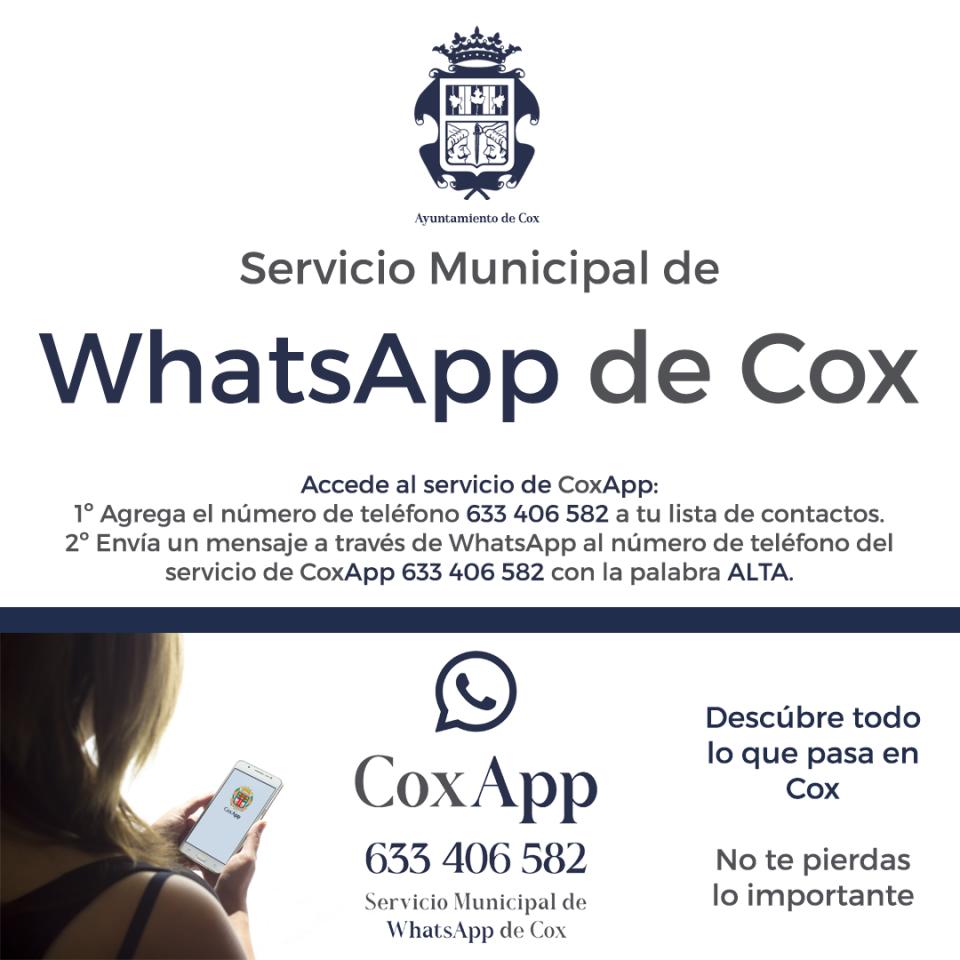 """Nace """"CoxApp"""" para informar de todo lo que acontece en Cox 6"""