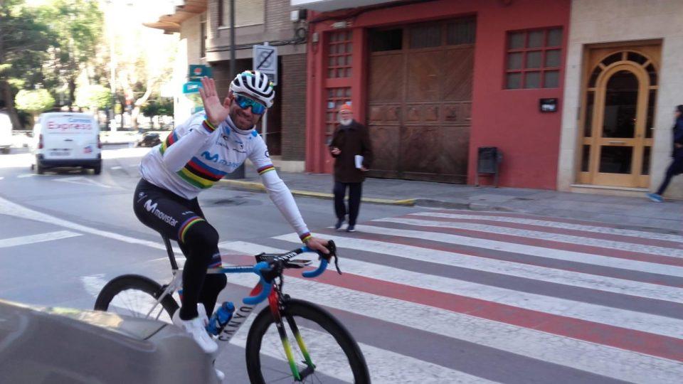 El campeón del mundo Alejandro Valverde entrena en Orihuela 6
