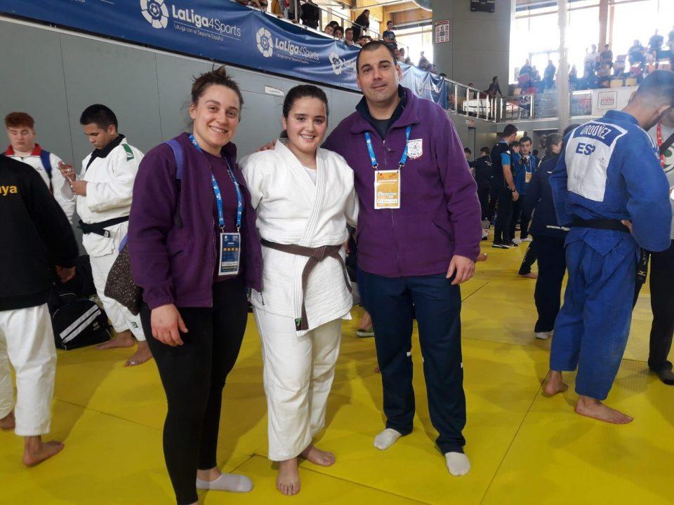 Beatriz Pacheco consigue un gran 7º puesto en el Campeonato de España junior 6