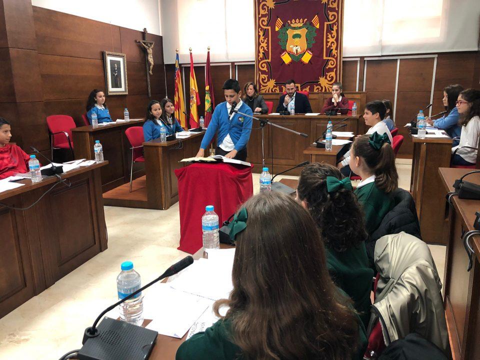 Callosa celebra un pleno infantil para conmemorar la Constitución 6