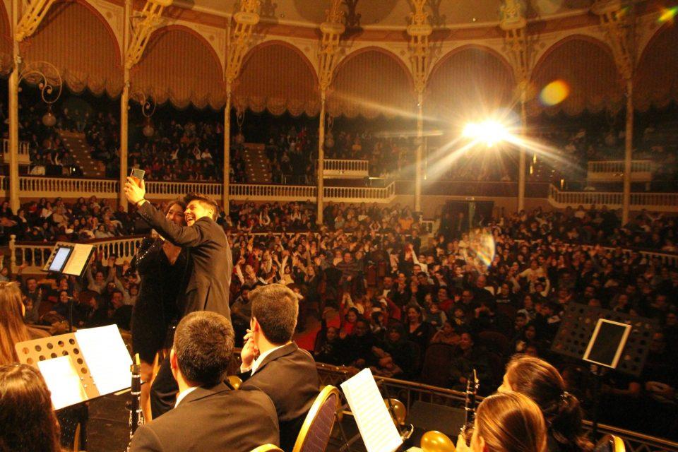 """Lleno en el concierto """"Una Navidad Disney"""" de la Unión Lírica Orcelitana 6"""