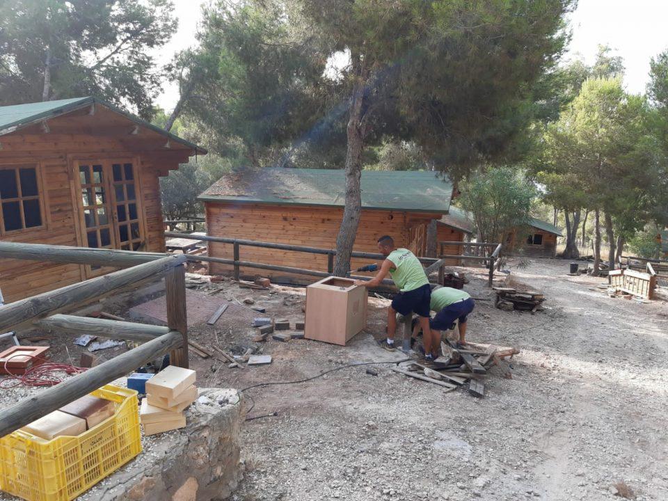 Orihuela recupera el área recreativa de San Cristóbal 6