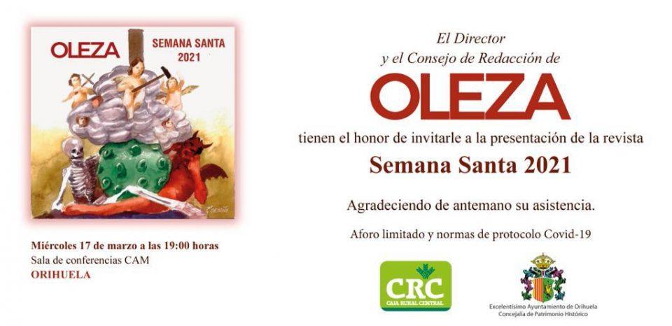 La Revista Oleza de la Semana Santa se presenta con un nuevo giro 6