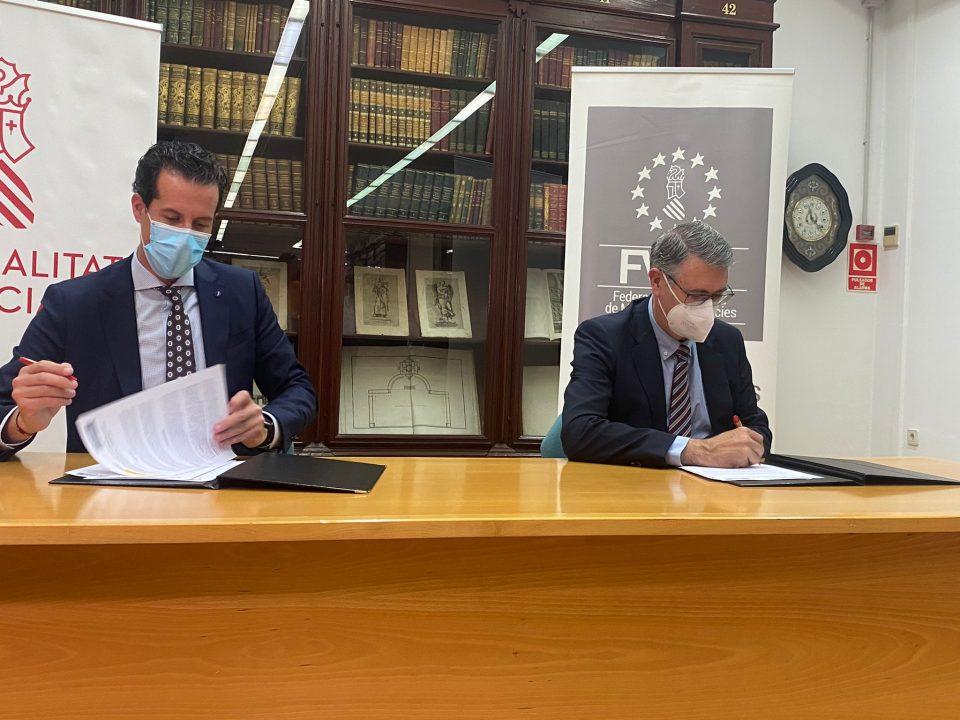 Firma de Protocolo entre la Confederación Hidrográfica del Segura y la Federación Valenciana 6