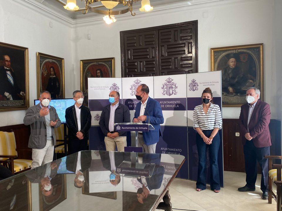 Orihuela contará con un vídeo promocional en la Feria Internacional de Shanghái 6