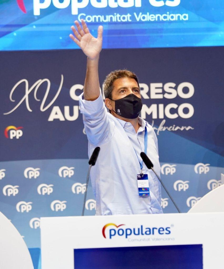 Carlos Mazón, nuevo presidente del Partido Popular en la Comunidad Valenciana 6