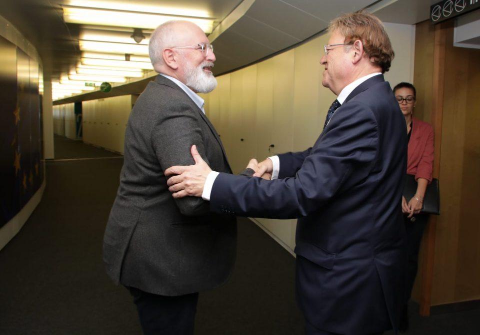 El Vicepresidente primero de la Comisión Europea visitará la Vega Baja 6