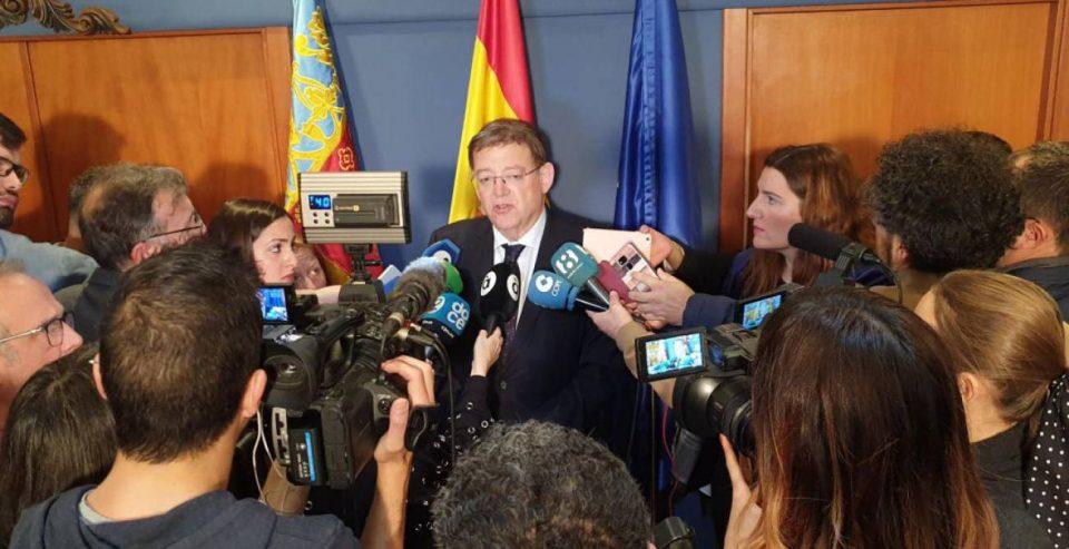 La Generalitat recurrirá la decisión del Ministerio que deja sin agua a los regantes del Trasvase 6