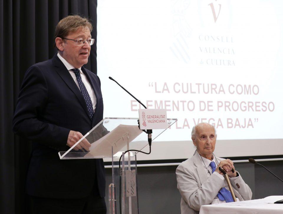 """Puig señala el legado cultural de la Vega Baja como """"elemento fundamental"""" para impulsar la comarca 6"""