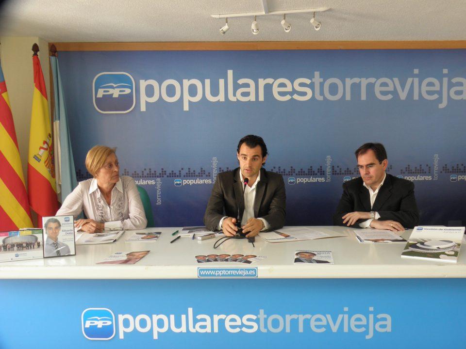 El PP denuncia que el Consell discrimina  la Vega Baja en sus Presupuestos 6