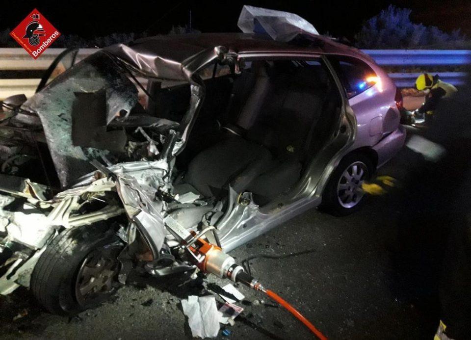 Un conductor que circulaba en sentido contrario en la AP 7 provoca un grave accidente 6