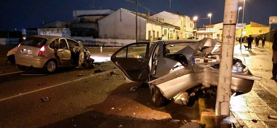 Dos heridos graves tras un brutal accidente en Orihuela 6